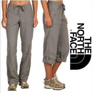 The north face horizon tempest gray pants size 0